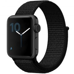 iMoshion Nylon bandje Apple Watch Series 1 t/m 6 / SE - 42/44mm