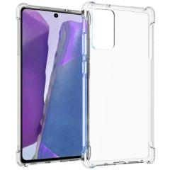 iMoshion Shockproof Case Samsung Galaxy Note 20 - Transparant
