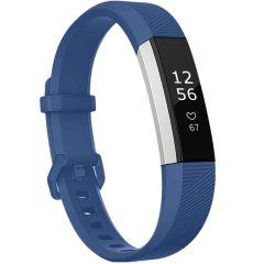 iMoshion Siliconen bandje Fitbit Alta (HR) - Donkerblauw