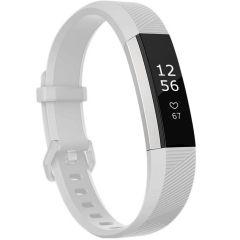 iMoshion Siliconen bandje Fitbit Alta (HR) - Wit