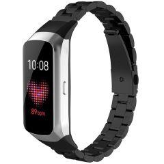 iMoshion Stalen watch bandje Samsung Galaxy Fit - Zwart