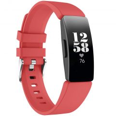 iMoshion Siliconen bandje Fitbit Inspire - Rood