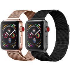 iMoshion Milanees bandje Multipack Apple Watch 1 t/m 6 / SE - 38/40mm