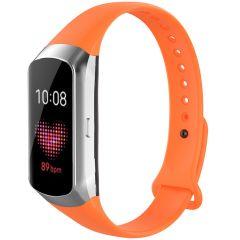 iMoshion Siliconen bandje Samsung Galaxy Fit - Oranje