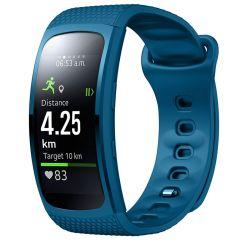 iMoshion Siliconen bandje Samsung Gear Fit 2 / 2 Pro - Blauw