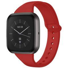 iMoshion Siliconen bandje Fitbit Versa 2 / Versa Lite - Rood
