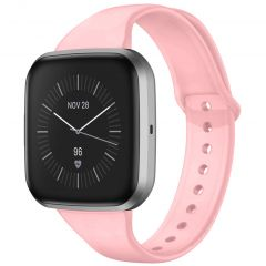 iMoshion Siliconen bandje Fitbit Versa 2 / Versa Lite - Roze