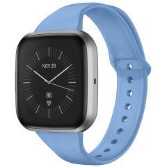 iMoshion Siliconen bandje Fitbit Versa 2 / Versa Lite - Lichtblauw