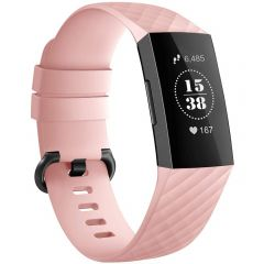 iMoshion Siliconen bandje Fitbit Charge 3 / 4 - Roze