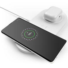Belkin Dual Wireless Fast Charging Pad - 10W - Wit