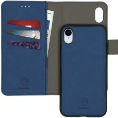 iMoshion Uitneembare 2-in-1 Luxe Booktype iPhone Xr - Donkerblauw