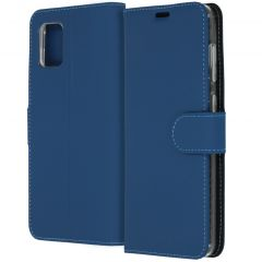 Accezz Wallet Softcase Booktype Samsung Galaxy A31 - Blauw