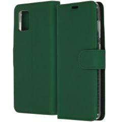 Accezz Wallet Softcase Booktype Samsung Galaxy A31 - Groen