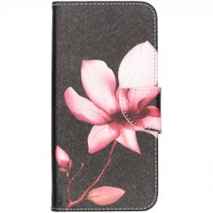 Design Softcase Booktype Samsung Galaxy A50 / A30s - Bloemen