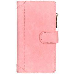 Luxe Portemonnee Samsung Galaxy A40 - Roze