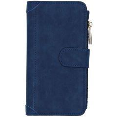 Luxe Portemonnee Samsung Galaxy S20 - Donkerblauw