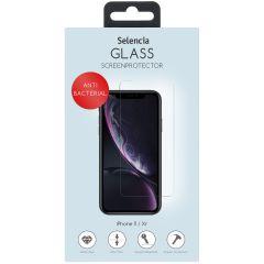 Selencia Gehard Glas Anti-Bacteriële Screenprotector iPhone 11 / Xr