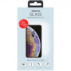 Selencia Glas Anti-Bacteriële Protector iPhone 11 Pro Max / Xs Max