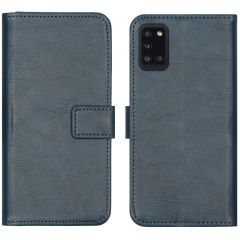 iMoshion Luxe Booktype Samsung Galaxy A31 - Donkerblauw