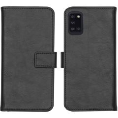 iMoshion Luxe Booktype Samsung Galaxy A31 - Zwart