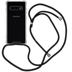 iMoshion Backcover met koord Samsung Galaxy S10 Plus - Zwart