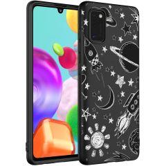Design Backcover Samsung Galaxy A41 - Space Design