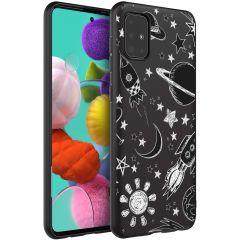 Design Backcover Samsung Galaxy A51 - Space Design