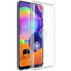 iMoshion Design hoesje Samsung Galaxy A31 - Paardenbloem - Wit