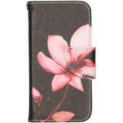 Design Softcase Booktype iPhone 12 Mini - Bloemen