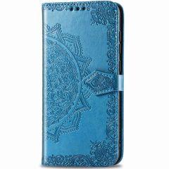 Mandala Booktype iPhone 12 Mini - Turquoise