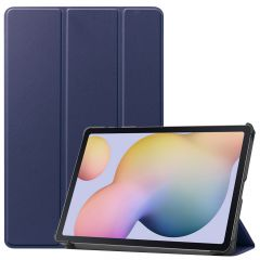 iMoshion Trifold Bookcase Samsung Galaxy Tab S7 - Donkerblauw