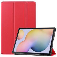 iMoshion Trifold Bookcase Samsung Galaxy Tab S7 - Rood