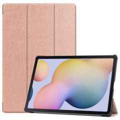iMoshion Trifold Bookcase Samsung Galaxy Tab S7 Plus - Rosé Goud