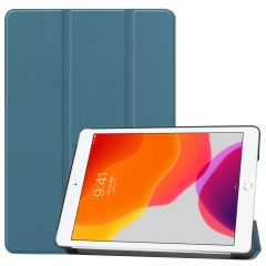 iMoshion Trifold Bookcase iPad 10.2 (2019 / 2020) - Donkergroen
