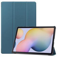 iMoshion Trifold Bookcase Samsung Galaxy Tab S7 Plus - Donkergroen