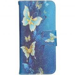 Design Softcase Booktype Samsung Galaxy A31 - Vlinders