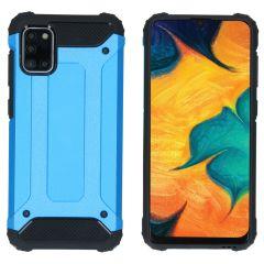 iMoshion Rugged Xtreme Backcover Samsung Galaxy A31 - Lichtblauw