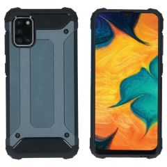 iMoshion Rugged Xtreme Backcover Samsung Galaxy A31 - Donkerblauw