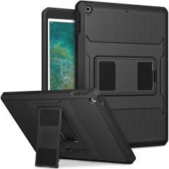 Accezz Rugged Back Case iPad (2018) / (2017) - Zwart