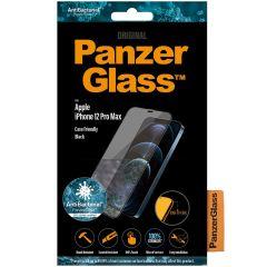 PanzerGlass Case Friendly Screenprotector iPhone 12 Pro Max - Zwart