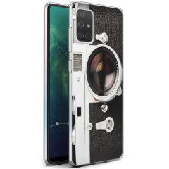iMoshion Design hoesje Samsung Galaxy A71 - Classic Camera