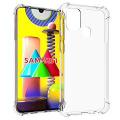 iMoshion Shockproof Case Samsung Galaxy M31 - Transparant