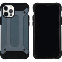 iMoshion Rugged Xtreme Backcover iPhone 12 (Pro) - Donkerblauw