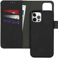 iMoshion Uitneembare 2-in-1 Luxe Booktype iPhone 12 (Pro) - Zwart