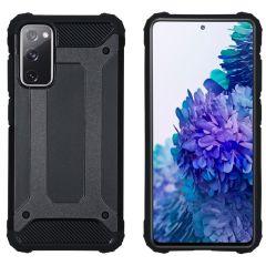 iMoshion Rugged Xtreme Backcover Samsung Galaxy S20 FE - Zwart
