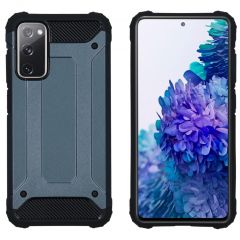 iMoshion Rugged Xtreme Backcover Samsung Galaxy S20 FE - Donkerblauw