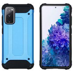 iMoshion Rugged Xtreme Backcover Samsung Galaxy S20 FE - Lichtblauw