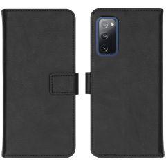 iMoshion Luxe Booktype Samsung Galaxy S20 FE - Zwart
