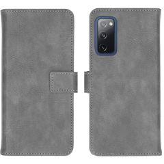 iMoshion Luxe Booktype Samsung Galaxy S20 FE - Grijs
