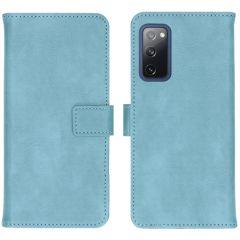 iMoshion Luxe Booktype Samsung Galaxy S20 FE - Lichtblauw